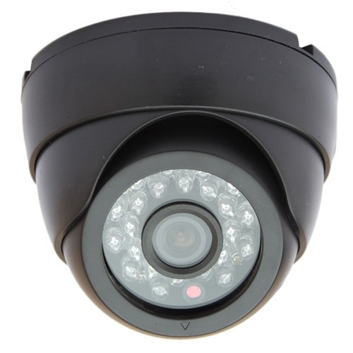 Ccd 520 Tv Lines (GW Security GW728HB 1/3-Inch SONY CCD 520TVL Security Camera - 3.6mm LenS for Wide Angle View, 23 IR LEDs. Good for Indoor Usage)