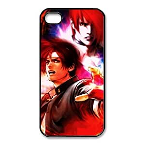 iphone4 4s Black phone case King Of Fighters Iori Birthday gift Best Xmas Gift for Boy QBI4377623