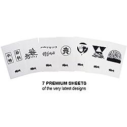 SMURF Premium Hipster Body Tattoos - Oriental