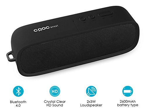 CRDCsmart Bluetooth Speakers, Portable Wireless...