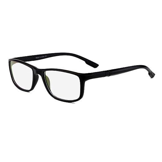 4a2d0662f5 Men Women Sport Eyeglass Frames Myopia Optical Eyewear Frame Rx Glasses  Frame New (Black)