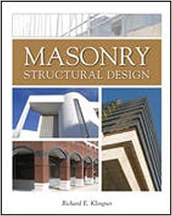 Masonry Structural Design by Richard E. Klingner