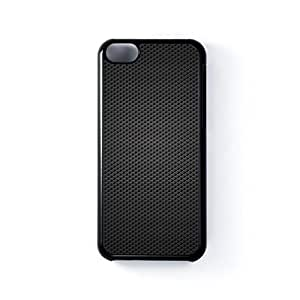 Carbon fibre Black Hard Plastic Case for Apple? iPhone 5C by Nick Greenaway + FREE Crystal Clear Screen Protector