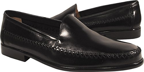 Giorgio Brutini Men's Venetian Mocassin Loafers,Black,7.5 M