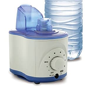 Bell + Howell Ultrasonic Personal Cool Mist Humidifier Lasts Up
