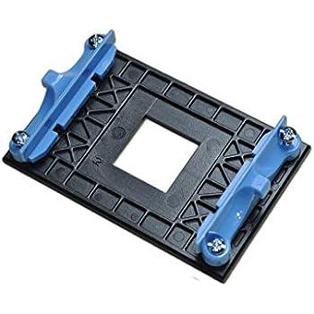 AM4 Retention Bracket & AM4 Back Plate (for AM4's Heat Sink Cooling Fan Mounting) -Blue