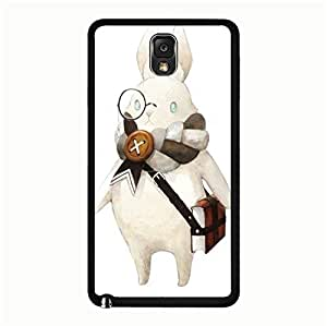 Samsung Galaxy Note 3 N9005 Case Cute Kawaii Rabbit Painted Pattern Custom Delicate Hard Cover Case for Samsung Galaxy Note 3 N9005