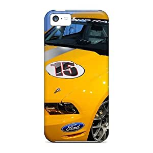 CADike Case Cover Protector Specially Made For Iphone 5c 2011 Mustang Boss 302r