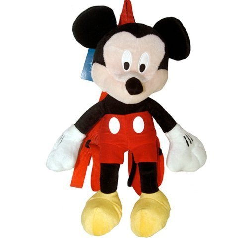 Mickey Mouse Plush Backpack - Disney Mickey Plush Backpack by 4SG