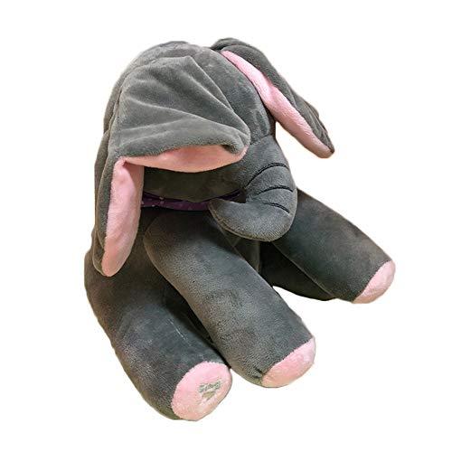 Amazon.com: Peluche de elefante cantando animado, juguete de ...