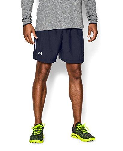 """Under Armour Men's UA Launch Run Woven 5"""" Shorts XL X 5 Midnight Navy"""