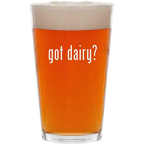 got dairy? - 16oz All Purpose Pint Beer Glass for sale  Delivered anywhere in USA
