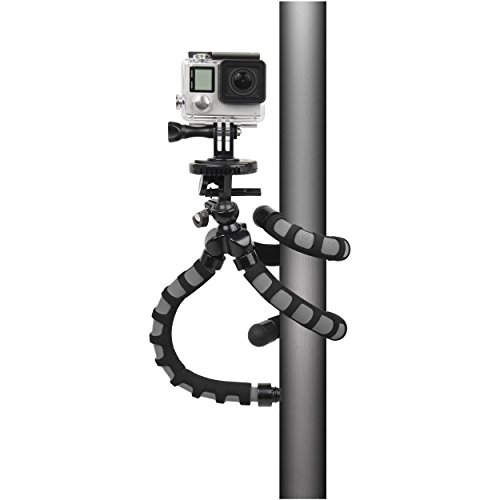 Bower - Flex Tripod For Gopro Hero - Black/gray