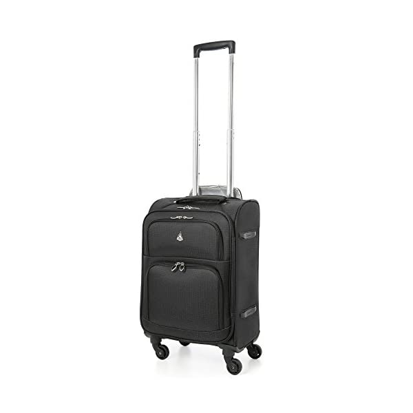 139a878e1e5d Aerolite 22x14x9″ Carry On MAX Lightweight Upright Travel Trolley Bags Luggage  Suitcase