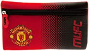 Manchester United FC Pencil Case (One Size) (Red/Black)