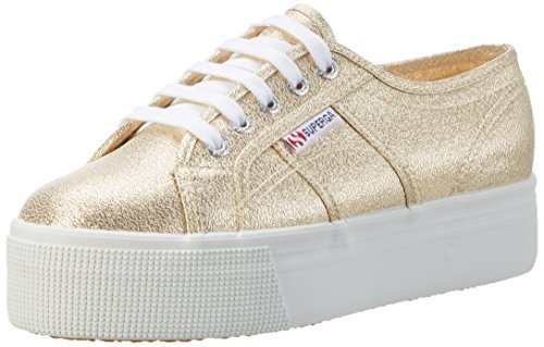 Gold Superga Or 174 Chaussures 2790 yellow De lamew Femme Gymnastique 8zq8RrTw