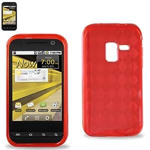 Reiko PSC03-SAMD600RD polímero para Samsung Conquer 4 G D600 - rojo