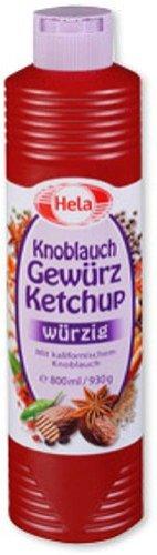 Hela Gewurz Ketchup Made with Californian Garlic ( 300 mililiter )