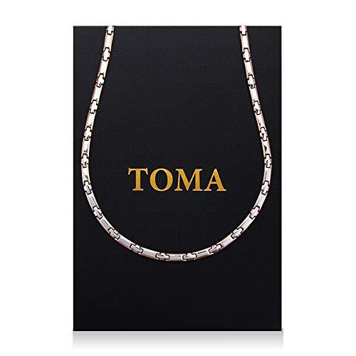 TOMA7MF 二色ネックレス 保証書(ギャランティカード)付き B014CT96D6