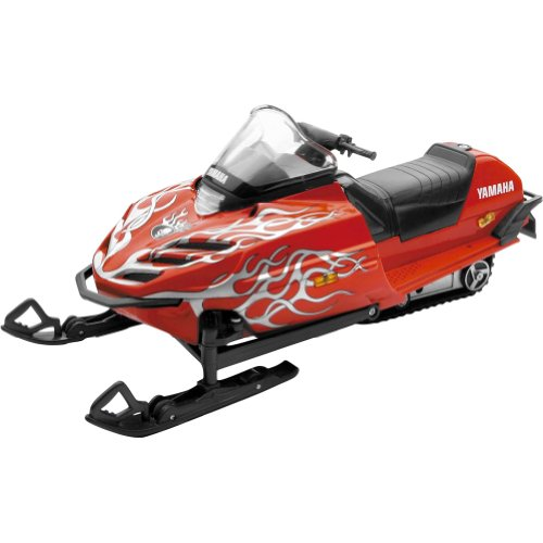 New Ray RC Yamaha SRX700 Snowmobile Model - 1:12 Scale/Red