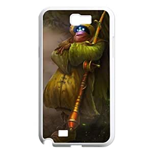 Samsung Galaxy N2 7100 Cell Phone Case White League of Legends Angler Jax LWY3577443KSL