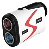 Raythor Golf Rangefinder, 6X Rechargeable Laser Range Finder 1000 Yards with Slope Adjustment, PinSeeker with JOLT Tech and Fast Focus System, Continuous Scan Support, Help You Choose The Right Club