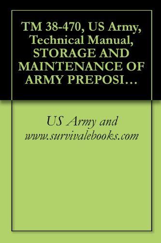 TM 38-470, US Army, Technical Manual, STORAGE AND MAINTENANCE OF ARMY PREPOSITIONED STOCK MATERIEL, 2004