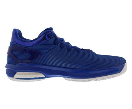 Adidas Sm Crazylight Stimuleren Laag Basketbal Heren Schoenen Maat Blauw / Wit