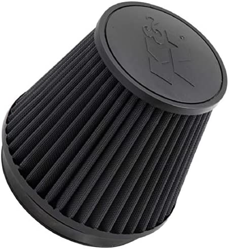 KNRB-0700 K/&N Universal 2-1//2 Clamp-On Round Air Filter