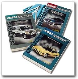 Chilton Saturn Coupes/Sedans/Wagons 1991-2002 Repair Manual (62300)