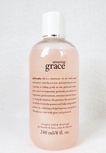 philosophy amazing grace bath shampoo amp shower gel 8 oz philosophy amazing grace perfumed shampoo bath amp shower