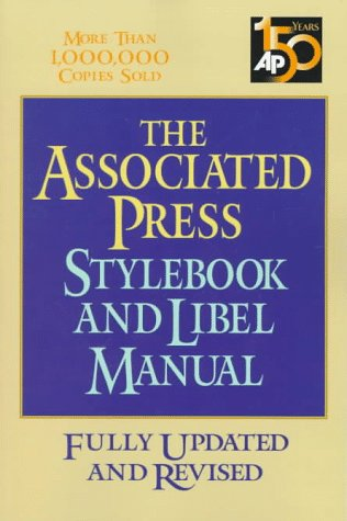 Pdf Reference Associated Press Stylebook And Libel Manual