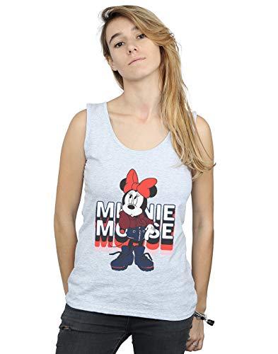 Tank Disney Gris Mouse Top Minnie In Hoodie Femme Sport qqXTfaO