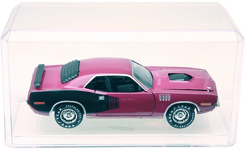 24 Clear Acrylic Display Cases For 1:24 Scale Cars - 9'' x 4.375'' x 4.125''