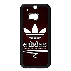 Premium Htc One M8 Cover Case,Stylish Design Adidas Luxury Phone Accessory with Luxury Adidas Logo