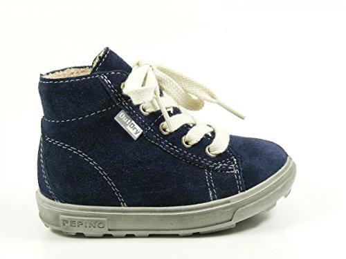 Ricosta Zaini - zapatillas deportivas altas de piel Niños^Niñas azul - azul