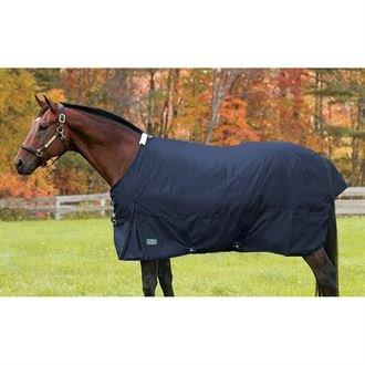 Rider's by Dover Saddlery Medium Weight Supreme Turnout Blanket - Hunter/Navy, 80 (Supreme International Turnout Sheet)