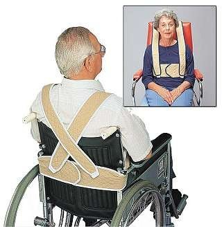 Posey 3656XL Torso Support for Geriatric Chair, -