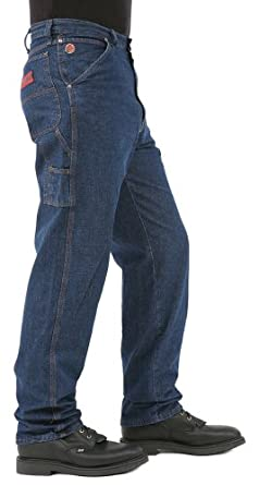 5fa14116314d0c Wrangler Men's 20X Carpenter Jean, Relaxed Fit, Pure Blue, 28W x 34L at  Amazon Men's Clothing store: