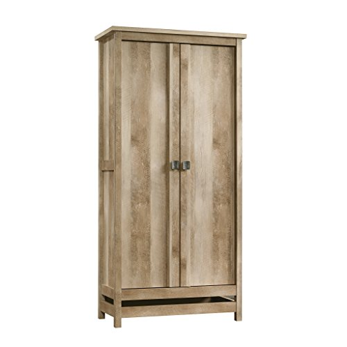 Sauder Cannery Bridge Storage Cabinet, Lintel Oak finish