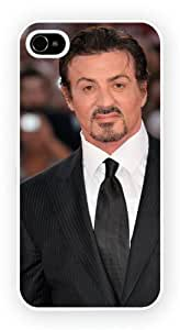 Sylvester Stallone B Iconic Male Moviestars, iPhone 4 / 4S glossy cell phone case / skin