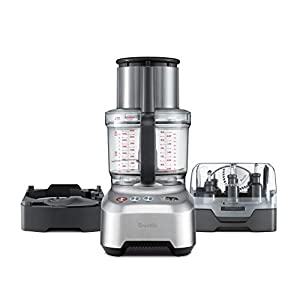 Breville BFP820BAL1BUS1 Sous Chef 16 Peel & Dice Countertop Food Processor, cup, Silver
