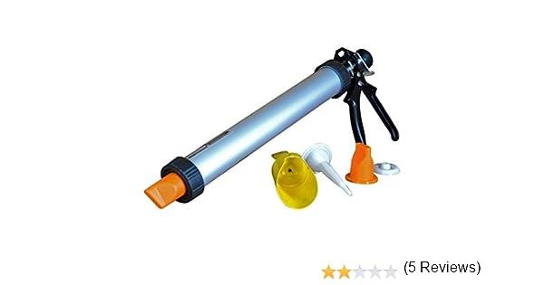 Nueva pistola de mortero para juntas de azulejos Ladrillo apuntando y cemento aplicador herramienta de bricolaje casa: Amazon.es: Hogar