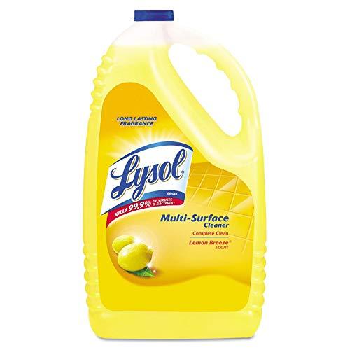 LYSOL Clean & Fresh Multi-Surface - All Purpose Cleaner, Sparkling Lemon Scent 144 oz