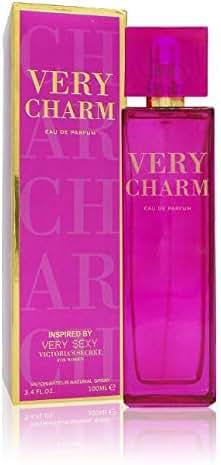 Very Charm Eau De Parfum For Her, 3.3 Fl.Oz / 100 ml Inspired by Very Sexy VS