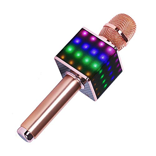 Wireless Karaoke Microphones Speaker, 4 In 1 Handheld Portable Bluetooth Home KTV Player, Superior Audio Quality For Singing & Recording, Compatible With Android & IOS Wireless Bluetooth Karaoke Micro by Xiuzhifuxie (Image #5)