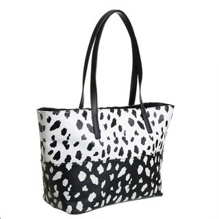 Celebrity Kenneth Cole Reaction Duplicator Tote animal print black and white