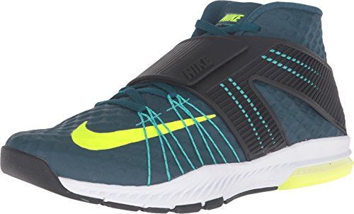 Nike Zoom Train Toranada Mens Running Trainers 835657 Sneakers Shoes (US 11, Midnight Turquoise Volt Black Hyper Jade 370) ()