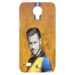 Arsenal Fc Team energetic Aaron Ramseyb Hard Plastic 3D Phone Case Snap On Samsung Galaxy S4 Mini