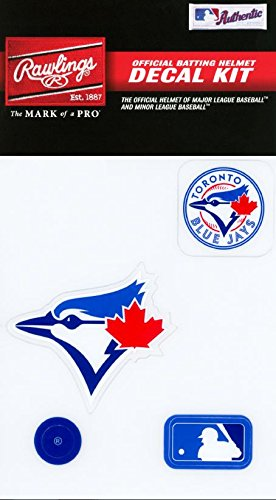 (Rawlings Sporting Goods MLBDC Decal Kit, Toronto Blue Jays)